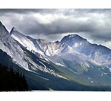 Rocky Mountain Peaks Photographic Print