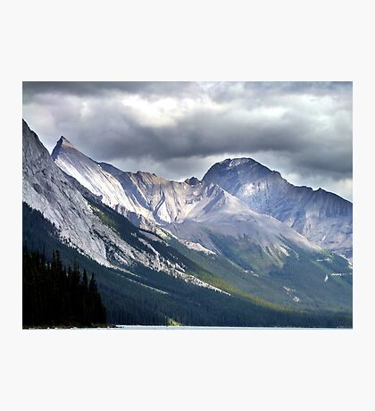 Rocky Mountain Peaks Photographic Print
