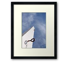 Desolate Pole.... Framed Print