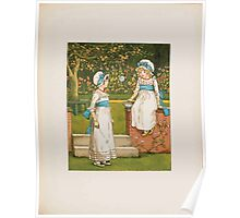 Rhymes for the Young Folk William and Hellen Allingham art Kate Greenaway 0063 The Bubble Poster