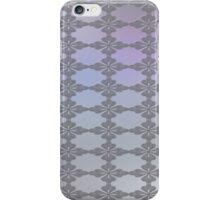 Soft Ornate Grid Pattern iPhone Case/Skin