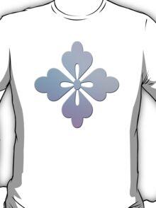 Soft Ornate Grid Pattern T-Shirt