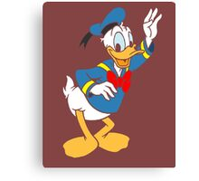 Donald Duck without borders Canvas Print