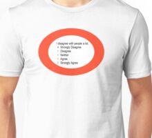 I DISAGREE! Unisex T-Shirt