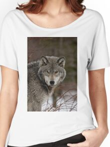 Eye Contact  -  Parc Omega, Montebello PQ Women's Relaxed Fit T-Shirt