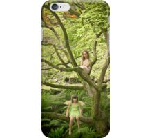 Woodland nymphs iPhone Case/Skin