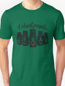 I Shoot People! Unisex T-Shirt
