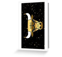 Chicago Bulls Gold Phone Case Greeting Card