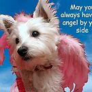 May an angel always be by your side by Pascal and Isabella Inard