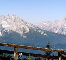 Berchtesgaden Fence by Scott Taylor
