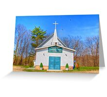Little Country Chapel Greeting Card