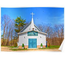 Little Country Chapel Poster