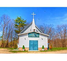 Little Country Chapel Photographic Print
