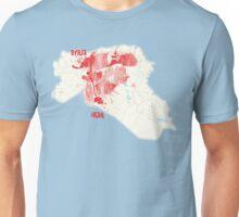 Syria-Iraq bleeding  Unisex T-Shirt