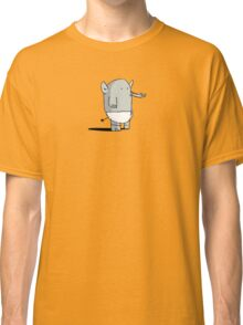 Baby Elephant in Diapers Classic T-Shirt