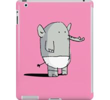 Baby Elephant in Diapers iPad Case/Skin