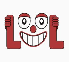 Laughing Out Loud Illustration by DFLC Prints