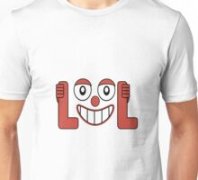 Laughing Out Loud Illustration Unisex T-Shirt