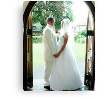 Weddings by Mark Young Canvas Print