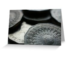 Common Cents Greeting Card