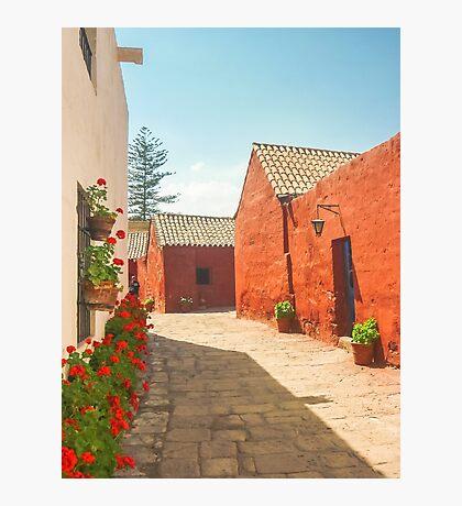 Street of Santa Catalina Monastery Photographic Print