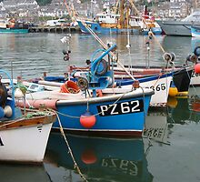 Newlyn harbour - Cornwall - South West England by Wowpostcards