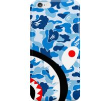 BAPE Blue Camo & Shark Phone Case iPhone Case/Skin