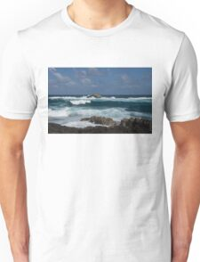 Boiling the Ocean at Laie Point, Oahu's North Shore in Hawaii Unisex T-Shirt