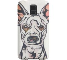 Dog Art #28: Weisswurst the Chihuahua Poodle Samsung Galaxy Case/Skin