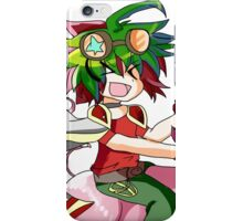 time for an entertainment duel iPhone Case/Skin