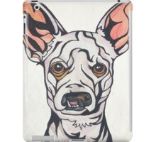 Dog Art #28: Weisswurst the Chihuahua Poodle iPad Case/Skin