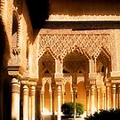 The Nasrid Palaces at the Alhambra Spain by Mal Bray