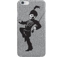 Black Parade Lyric print iPhone Case/Skin