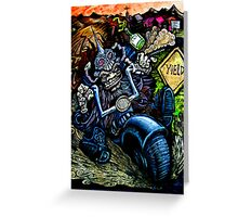 American Warrior Greeting Card