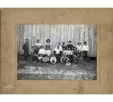 GROUP OF MEN FROM THE HAZEL, KENTUCKY AREA Photographic Print
