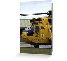 SAR Sea King Falklands Greeting Card
