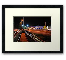 Carrying the shopping home Framed Print