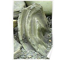 Rock formation Falklands Poster
