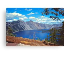 Clouds over Crater Lake 1979 Canvas Print