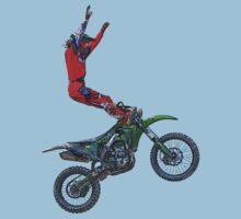 Motocross Aerial Stunt-rider I by Skye Ryan-Evans