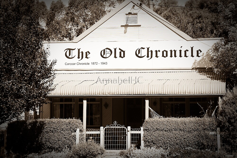 The Old Chronicle by AnnabelHC