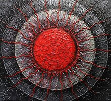 Modern Art Painting Agni by Patricia Lintner