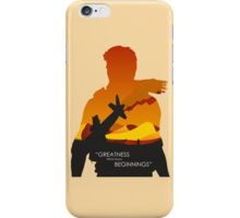 Greatness from small Beginnings iPhone Case/Skin
