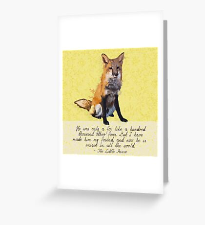 Unique in All the World Greeting Card