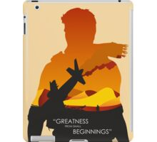 Greatness from small Beginnings iPad Case/Skin