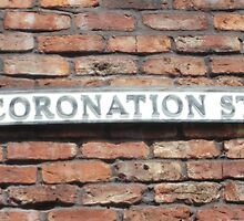 Coronation street  sign. by Keithydee