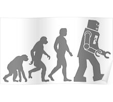 Evolution Of Robots T Shirts, Stickers and Other Gifts Poster