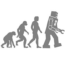 Evolution Of Robots T Shirts, Stickers and Other Gifts Photographic Print
