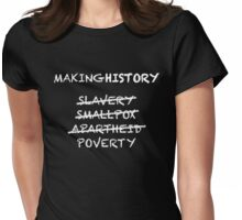 Making History Womens Fitted T-Shirt