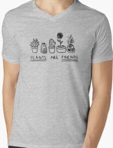 Plants Are Friends Mens V-Neck T-Shirt